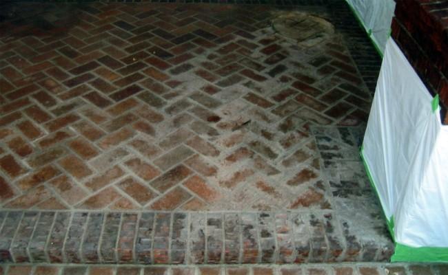 Brick Patio ...