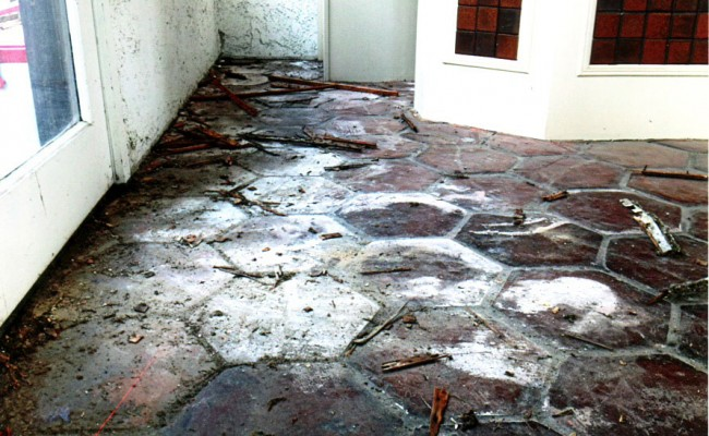 Mexican Stone Blocks : Stone cleaning long beach tile