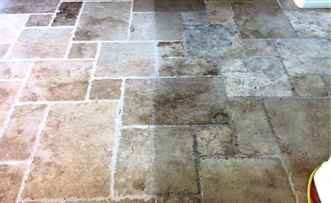 Travertine Floor Cleaning In Yorba Linda Vaporlux Stone